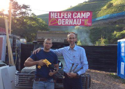 Helfer Camp DERNAU / Ahrtal (Werkzeug Spende)